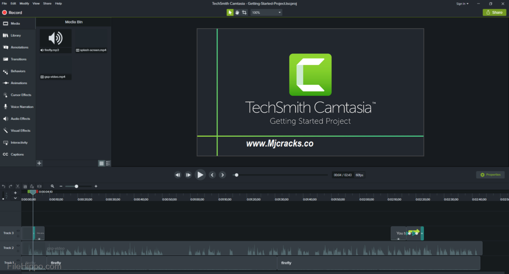 Camtasia Studio 18.0.8 Crack Plus Serial Key 2019 [Lifetime]