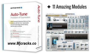 Antares AutoTune Pro 9.1.1 Crack + Serial Key 2020 Free Download