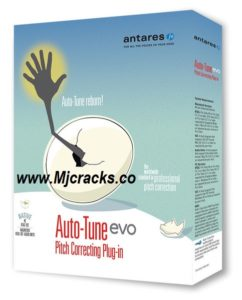 Antares AutoTune Pro 9.0.1 Crack + Serial Key 2019 Free Download