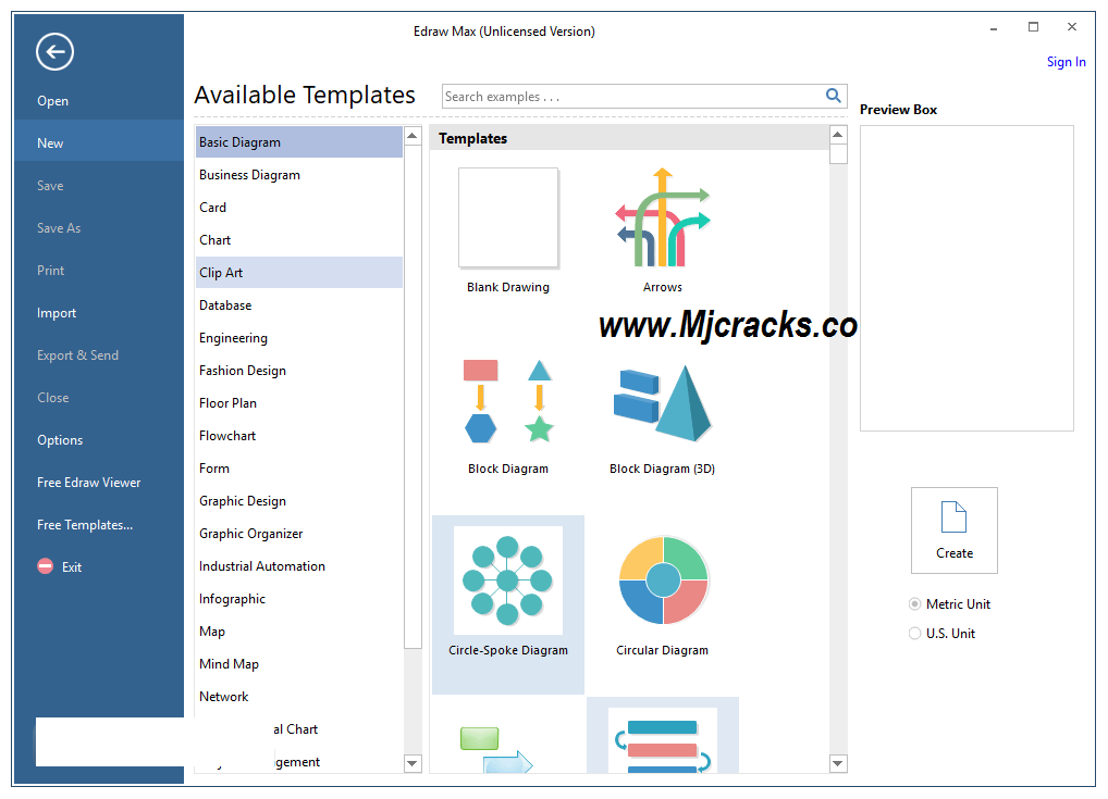 Edraw Max 9.3 Crack With License Key 2019 Free Download
