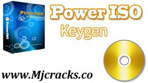 PowerISO 8.39 Crack + License Key Latest 2020 [Lifetime]