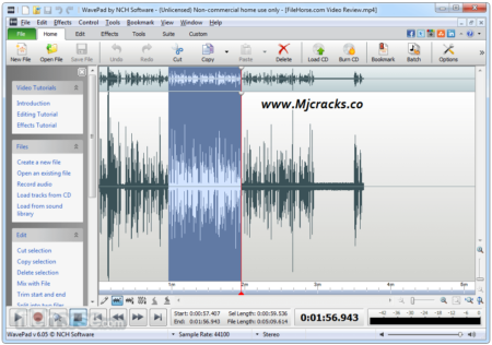 WavePad Sound Editor 10.53 Crack With Keygen Download Latest [2020]