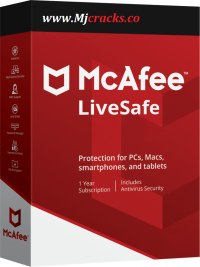 McAfee LiveSafe 2021 Crack + Product Key Latest Free Download
