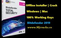 Bitdefender Antivirus Total Security 2019 Crack + Serial Key Download