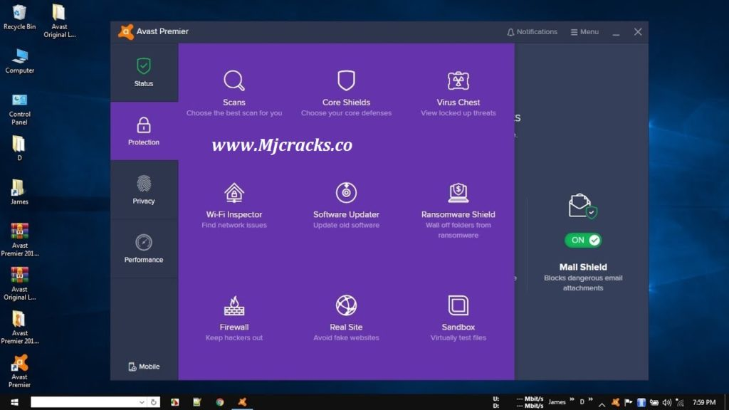 Avast Premier 2019 Crack With Serial Key Free Download