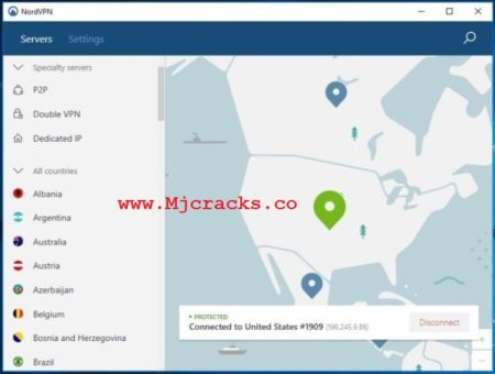 NordVPN 6.31.11.0 Crack With License Key Free Download [Lifetime]
