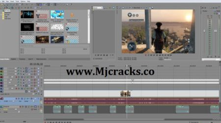 Sony Vegas Pro 18.0.284 Crack Plus Torrent 2020 Download