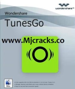 Wondershare TunesGo 9.7.3.4 Crack Plus Registration Code [Mac/Wins]