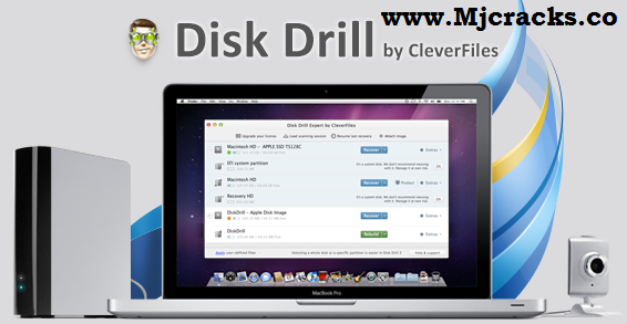 Disk Drill Pro 4.0.486.1 Crack Plus License Key Free 2019 [Updated]