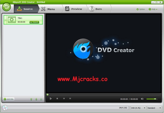 ISkysoft DVD Creator 6.2.4.110 Crack + Serial Key 2019 Free Download